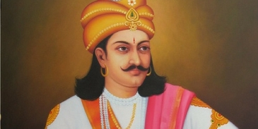 Which famous Indian king resembles you