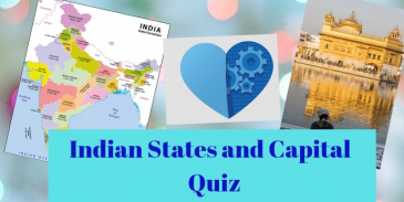 A 7th grade kid can easily clear this Indian states and capital quiz