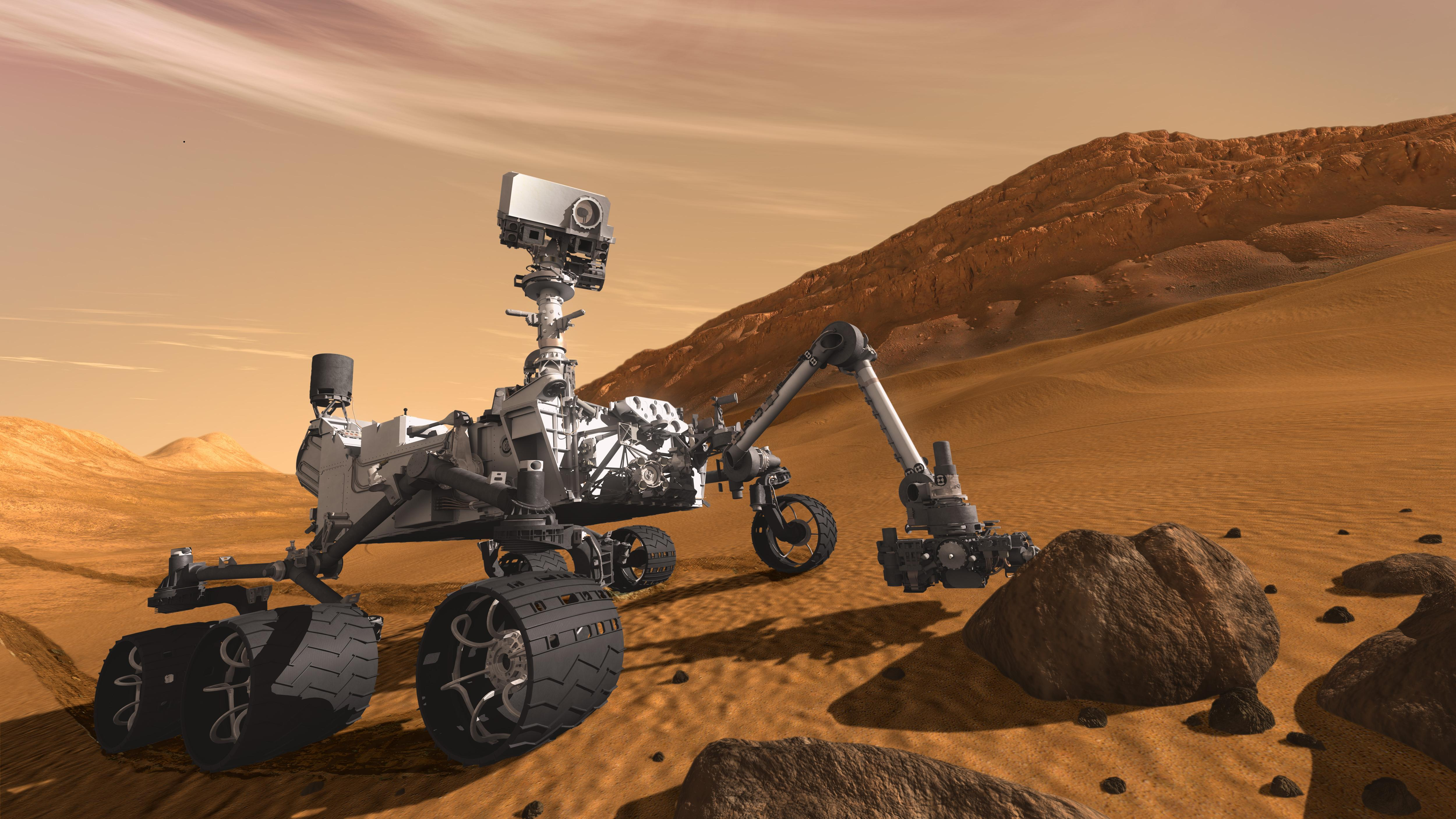 What was the name of last rover spacecraft for mars mission?
