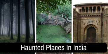 Can you identify these famous haunted places in India?