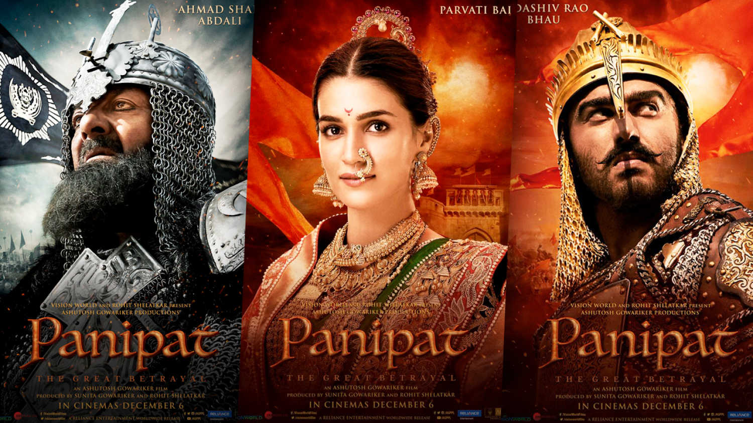 When Panipat movie will be released?