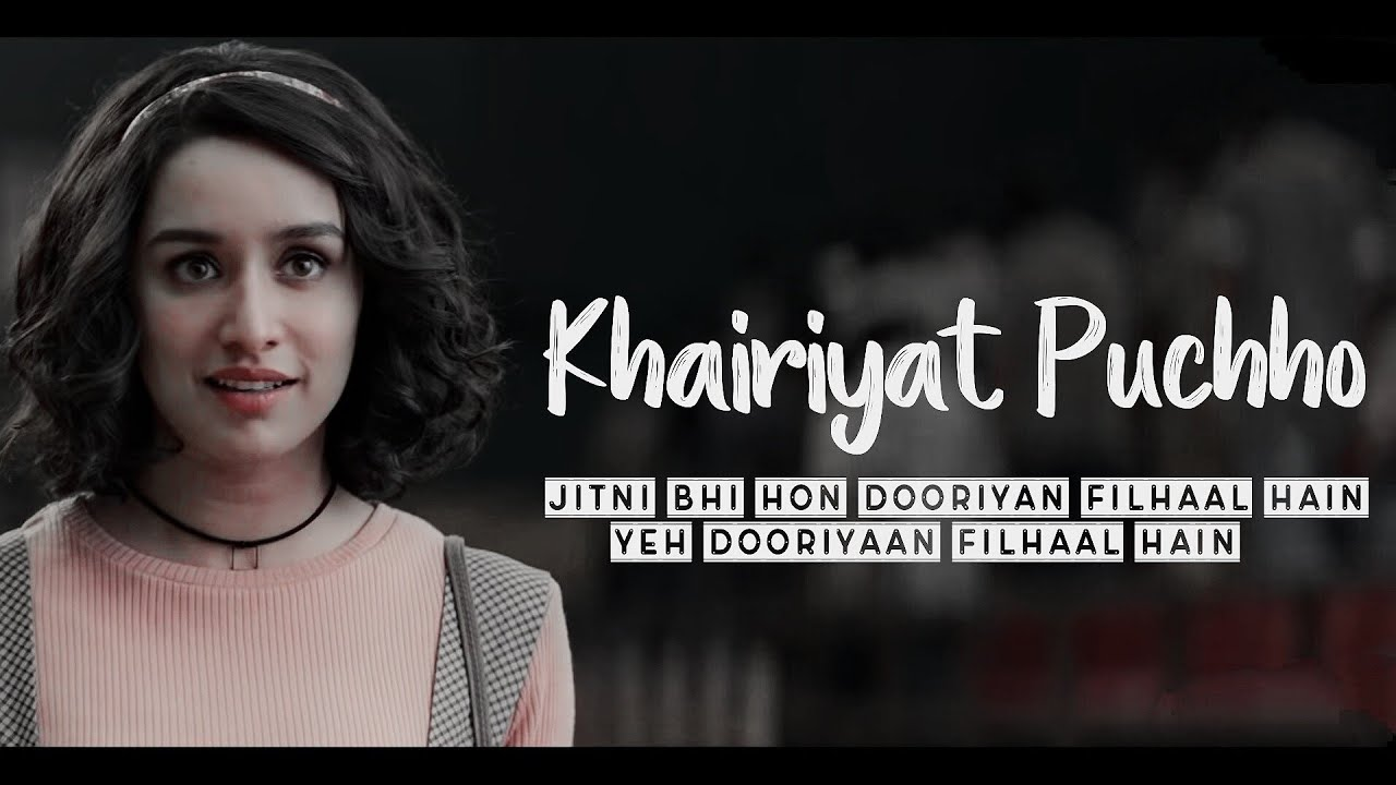 In which movie, Arijit sung this song, Khairiyat?