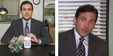 Answer this quiz questions on Michael Scott from The Office and see how much you can score