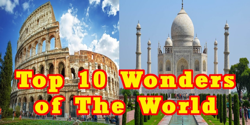 Take this quiz and see can you recognize these 10 wonders of the world?