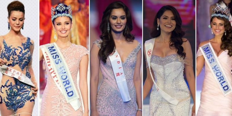 Take this quiz and see can you recognize last 10 Miss World Tittleholders?