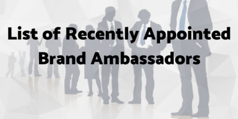 Take this quiz and see how well you know the brand ambassadors of your favorite company?