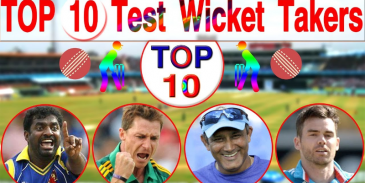 Take this quiz and see how well you know about highest wicket takers in the world?