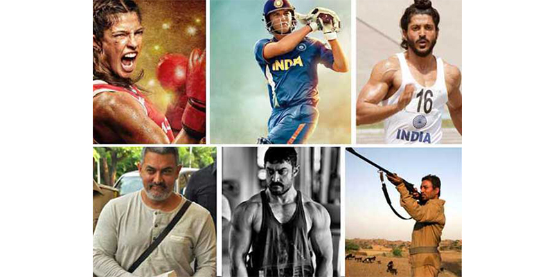Take this quiz and see how well you know about these stars who played the biopic od sport-persons ?