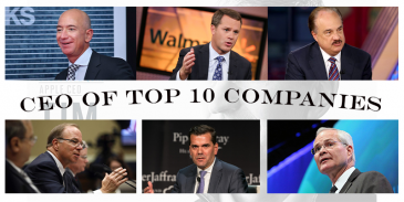 Take this quiz and try to recognize the CEOs top companies