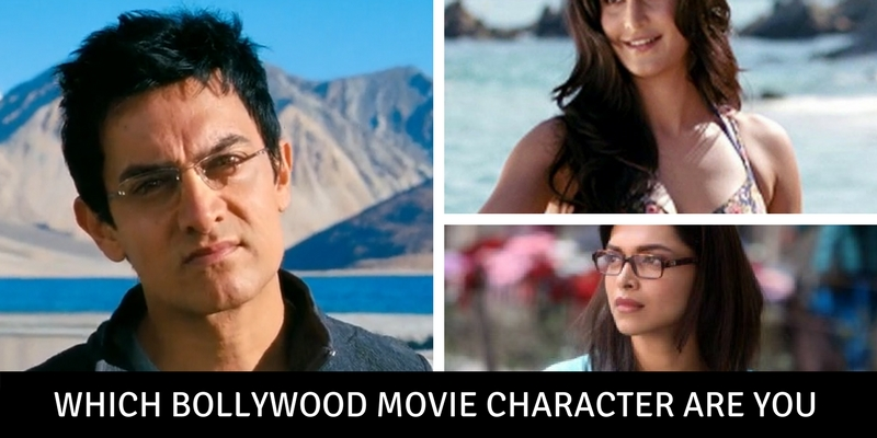 Which Bollywood movie character are you