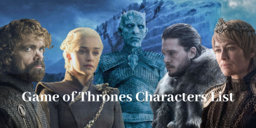Take this quiz and try to recognize the Game of Thrones characters?