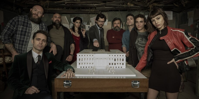 Take this Money Heist quiz and try to recognize the starring of this crime drama series