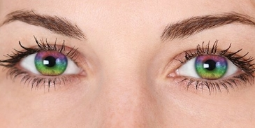 Which colour contact lense will match you