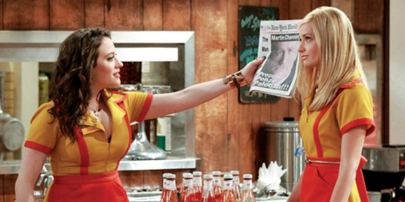 Answer this quiz questions about 2 Broke Girls season 4 and check your score