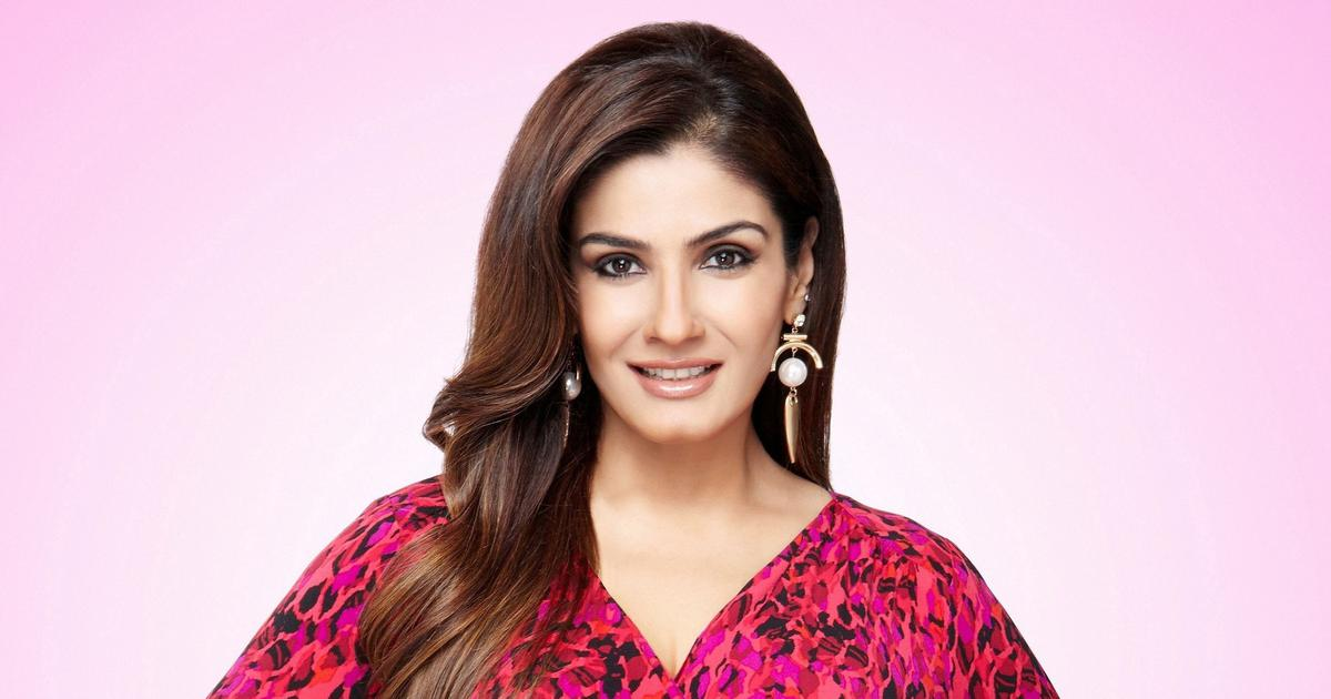 Guess who was the boy outside bollywood who wooed Raveena Tandon?