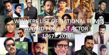 Take this quiz and see for which movie famouse actors won National Film Award for Best Actor?