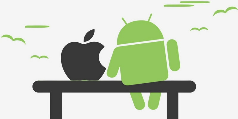 We can guess if you are an Android or IOS user