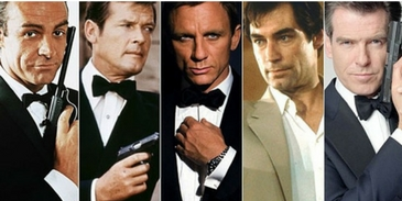 We can guess your favourite James Bond character