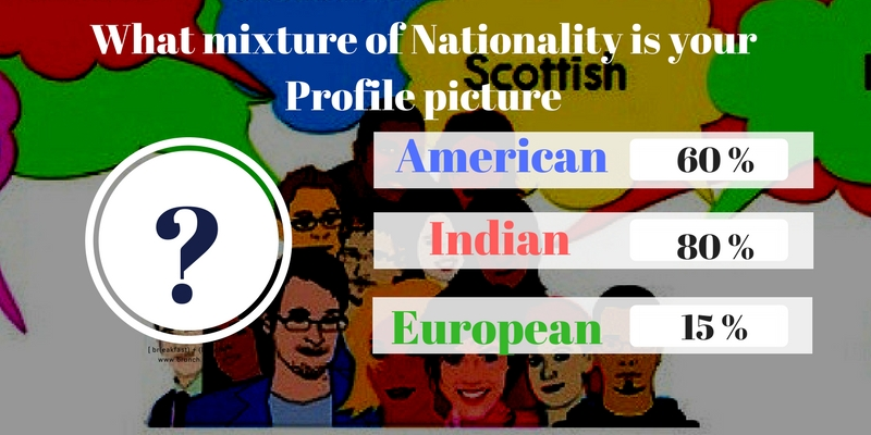 What mixture of Nationality is your Profile picture