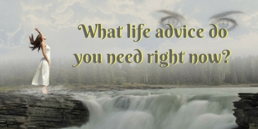 What life advice do you need right now?