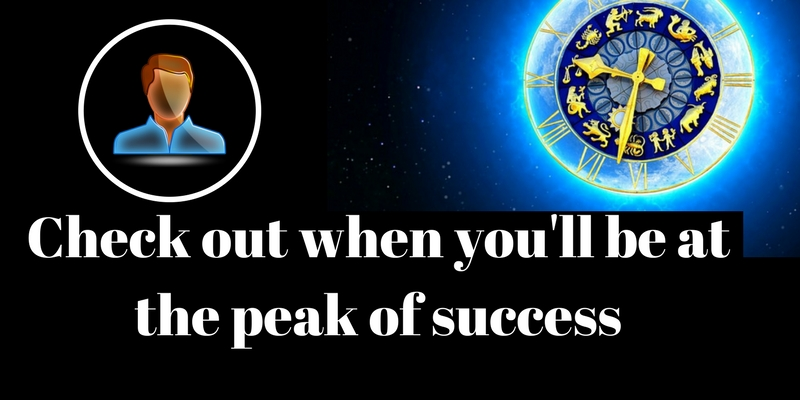 Check out when you'll be at the peak of success