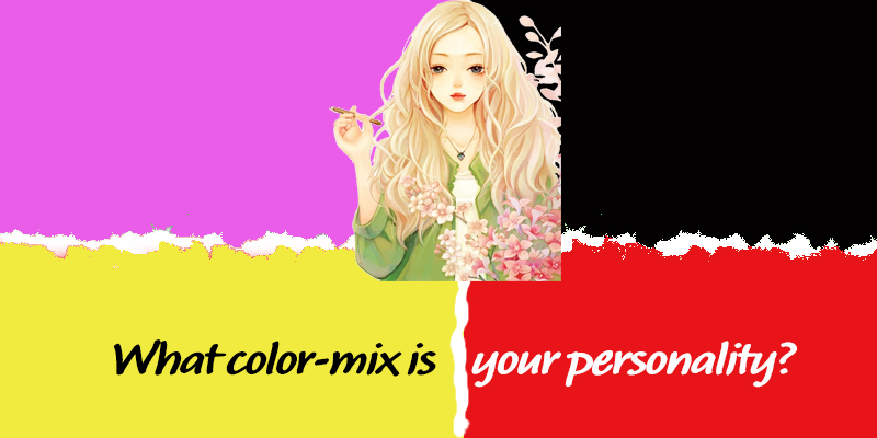What colour mix is your personality