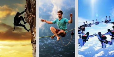 Which extreme sport suits your personality