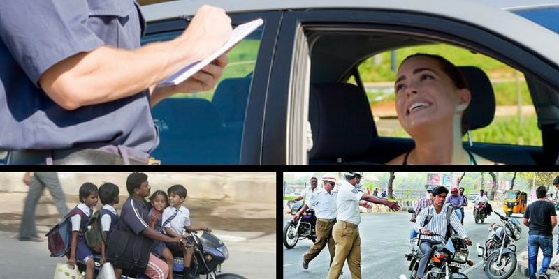 We can guess the traffic rule that you have violated based on these random questions