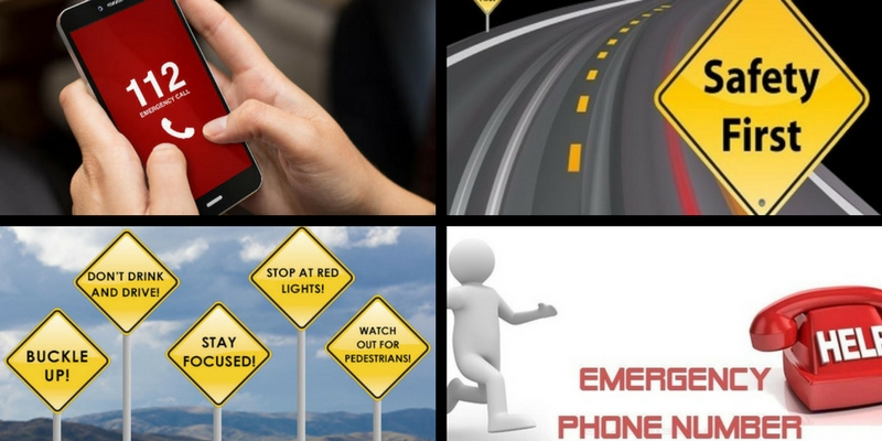 How much do you know about the emergencies number and road safety rules