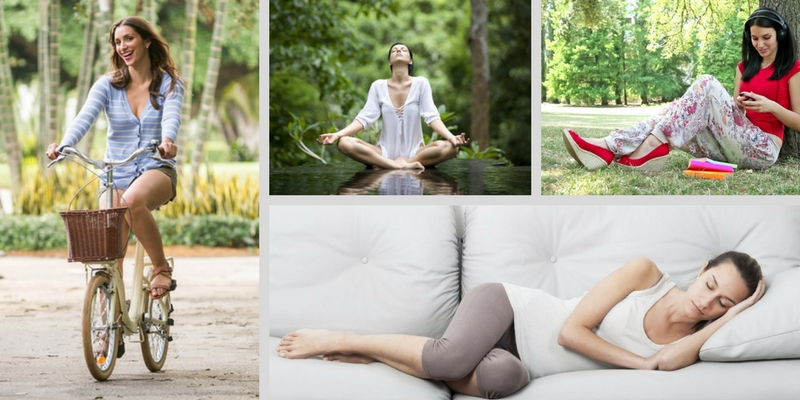 We can guess the mode of relaxation that you prefer the most