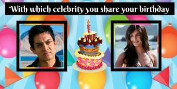 With which celebrity you share your birthday