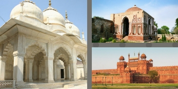 Can you name the Kings who has built the famous monuments