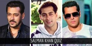 If you score 7/10 in this Salman Khan quiz,then you are a true BHAI Fan