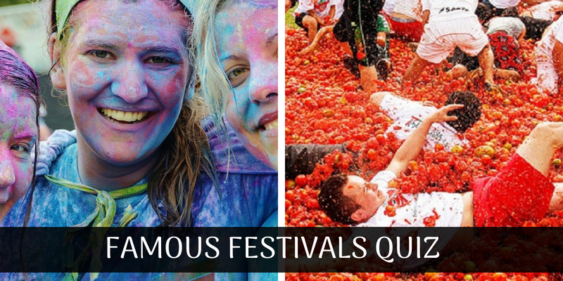 Can you answer this quiz on famous festivals in the world