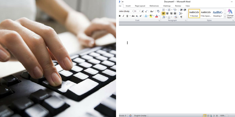 How much aware are you of the shortcut keys that are used in Microsoft Word