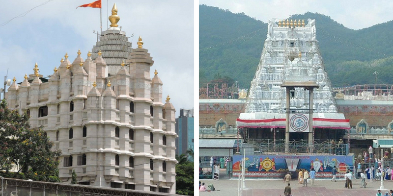 Can you answer these questions regarding the famous temples in India