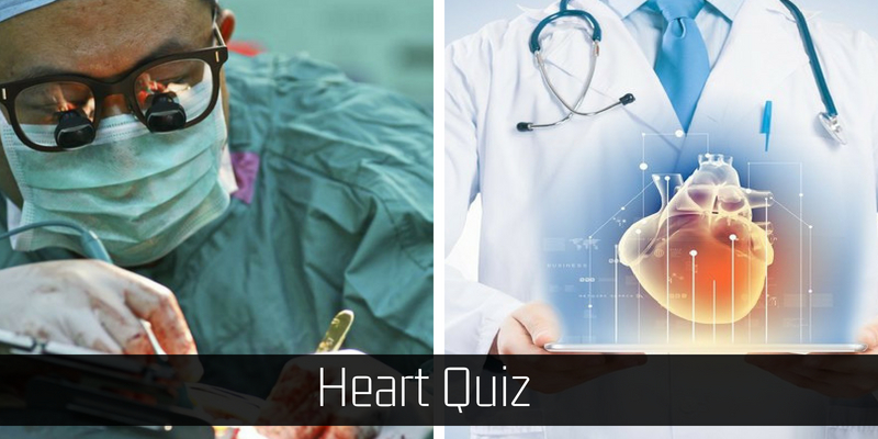 Only a cardiologist can secure full in this quiz about heart