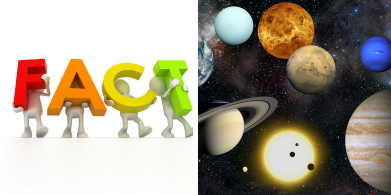 Take this quiz on some of the general facts on planets and earth, and check how much you can score