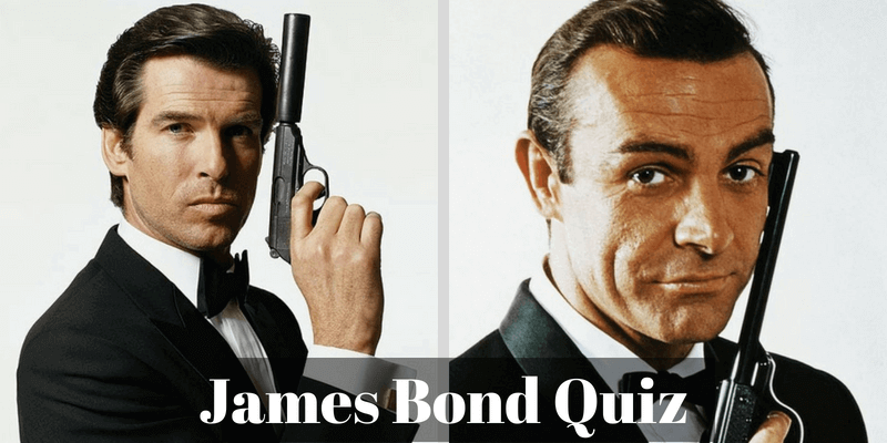 How much do you know about James Bond, take this quiz