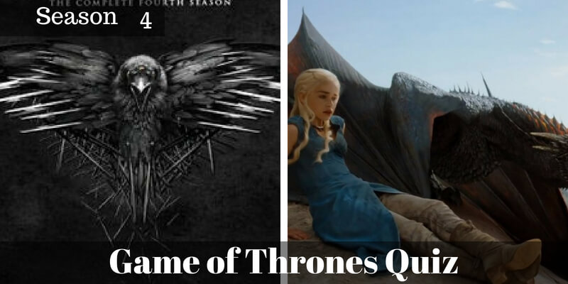 Take this Game of Thrones Season 4 quiz and check how much you can score