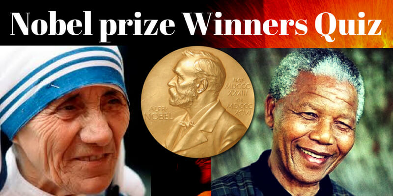 Can you get at least 50% on this quiz on Nobel prize winners