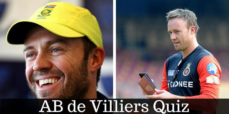 How well do you know about AB de Villiers