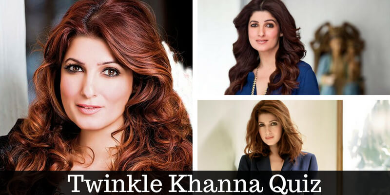 Take this Twinkle Khanna quiz and check how much you can score