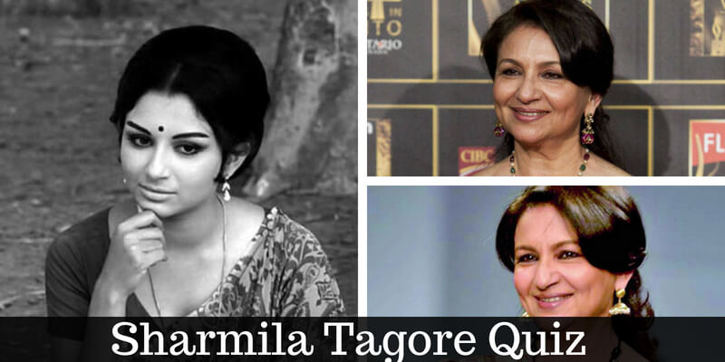 How well do you know Sharmila Tagore, take this quiz