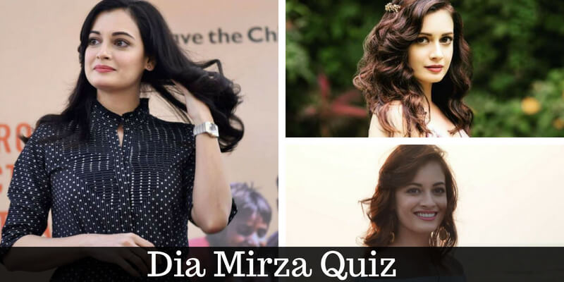 How well do you know Dia Mirza, take this quiz and check