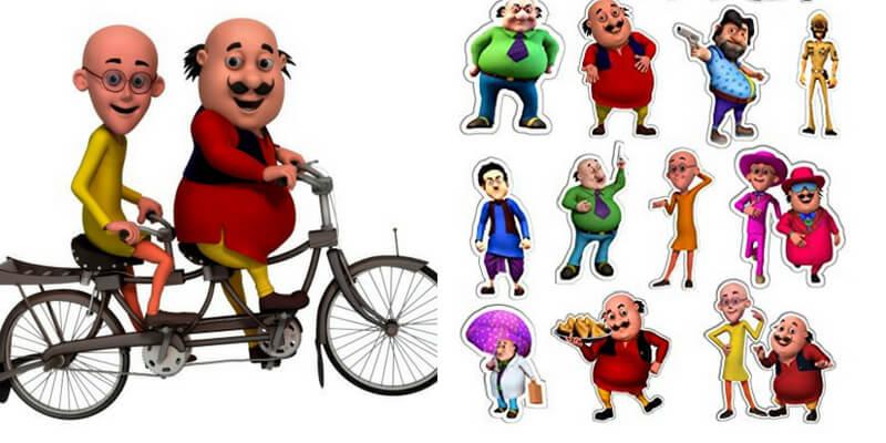 Can we guess your favourite Motu Patlu character