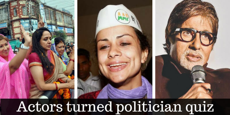 Can you name the political parties that the Bollywood celebrities has joined