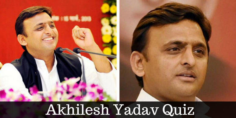 Take this quiz on Akhilesh Yadav and check how much you can score.