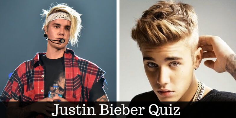 Take this quiz on Justin Bieber and check how much do you know about him
