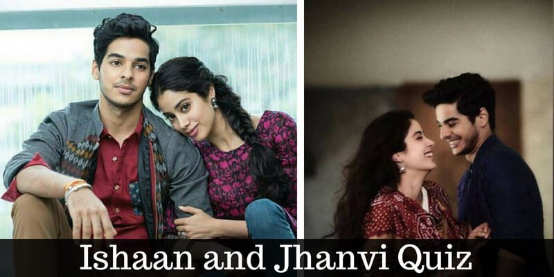 Take this quiz on Ishaan Khatter and Jhanvi Kapoor and check how much you know about them